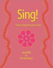 how to sing notes music accompaniment CD warmups singing exercises