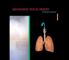 Managing Vocal Health: The human instrument